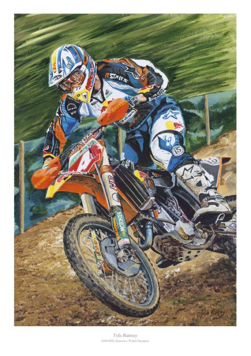Tyla Rattray, KTM,  2008 MX2 World Motocross Champion